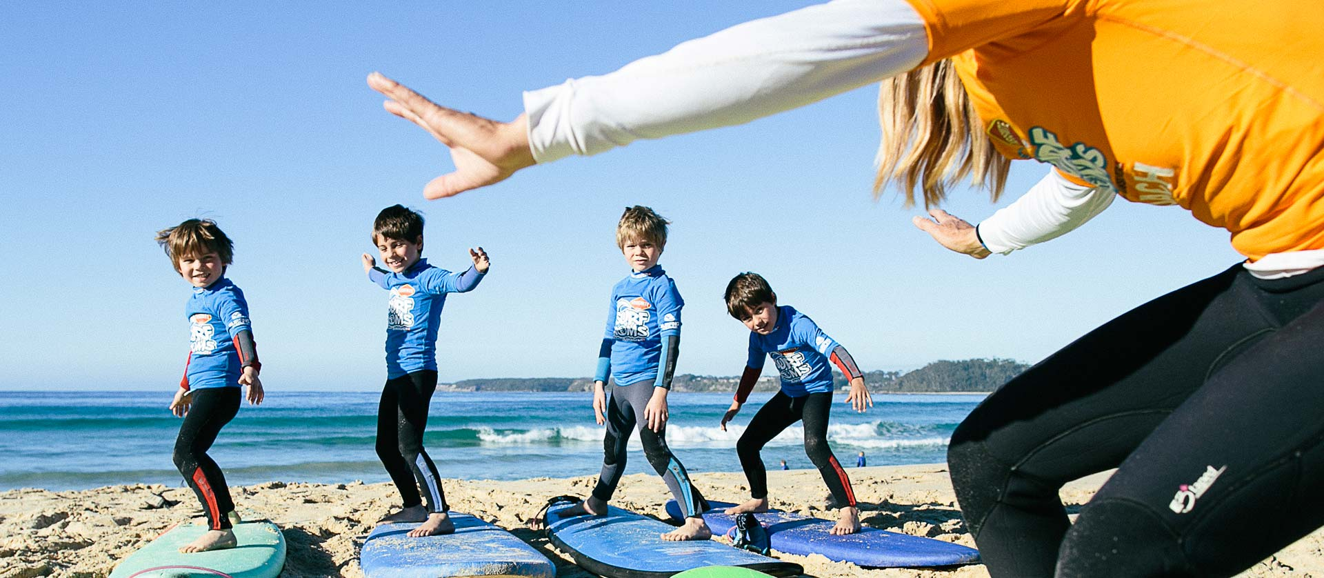 Learn To Surf in Mollymook